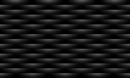 Abstrakter schwarzer Mustervektor-Beschaffenheitshintergrund vektor abbildung