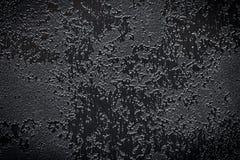 Abstrakter schwarzer strukturierter Hintergrund Lizenzfreie Stockbilder