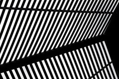 Abstrakter schwarzer u. weißer Hintergrund Stockfotos