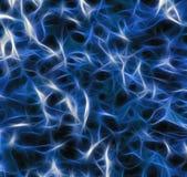 Abstrakter schwarzer und blauer Hintergrund Stockbild