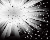 Abstrakter schwarzer weißer Hintergrund Lizenzfreie Stockfotografie