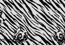 Abstrakter Schwarzweiss-Hintergrund Lizenzfreies Stockfoto