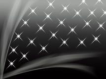 Abstrakter Schwarzweiss-Hintergrund Lizenzfreie Stockfotografie