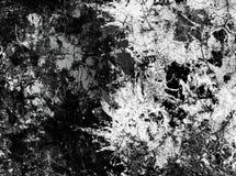 Abstrakter Schwarzweiss-Hintergrund Stockbild