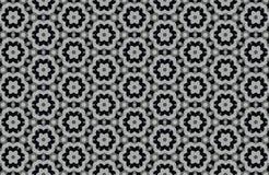 abstrakter Schwarzweiss-Musterhintergrund Stockfoto