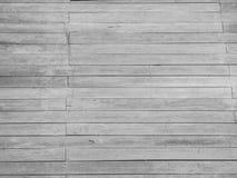 Abstrakter Schwarzweiss-Streifenbretterbodenhintergrund Lizenzfreie Stockfotografie