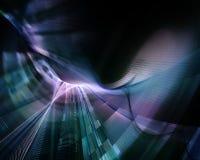 Abstrakter Sciencefictionshintergrund Stockbilder