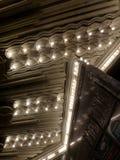 Abstrakter silberner Reflectant Art Deco Style Ceiling Lizenzfreies Stockbild