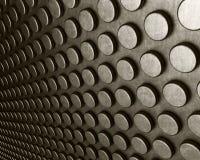 Abstrakter silberner Stahlhintergrund Lizenzfreies Stockbild