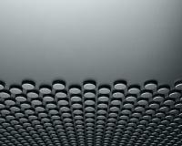 Abstrakter silberner Stahlhintergrund Lizenzfreie Stockfotos