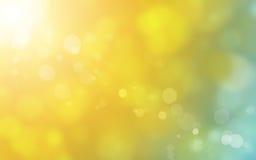 Abstrakter Sonnehintergrund Stockbild