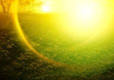 Abstrakter Sonnenuntergang Lizenzfreies Stockfoto