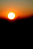 Abstrakter Sonnenuntergang Stockfoto