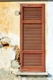 abstrakter sonniger Tag borghi Palastitaliens Stockfoto