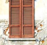 Abstrakter sonniger Tag Varano-Palastitaliens Lizenzfreie Stockbilder