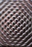 Abstrakter spinnender Hintergrund Stockfoto