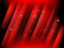 Abstrakter Starfield-Hintergrund stock abbildung