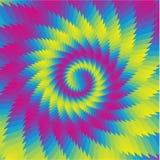 Abstrakter Steigungblumenhintergrund Vektor Abbildung