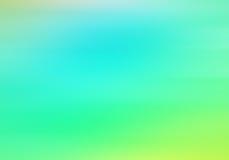 Abstrakter Steigungshintergrund mit den blauen und grünen Farben Lizenzfreie Stockbilder