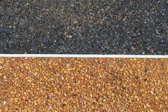 Abstrakter Steinboden im Gehweg Lizenzfreies Stockfoto
