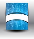 Abstrakter Stern-Schnee-Hintergrund Lizenzfreies Stockbild