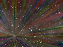 Abstrakter sternenklarer Hintergrund lizenzfreie abbildung