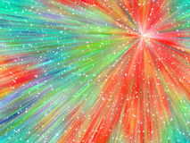Abstrakter sternenklarer Hintergrund stock abbildung