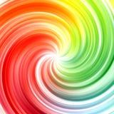 Abstrakter Strudelregenbogen färbt Hintergrund Stockbilder