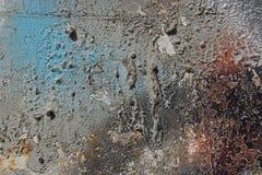 Abstrakter strukturierter Hintergrund - grungy Metallabschluß oben Lizenzfreie Stockfotos