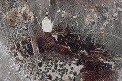Abstrakter strukturierter Hintergrund - Grungy strukturiertes Metall - nahes hohes Stockbild
