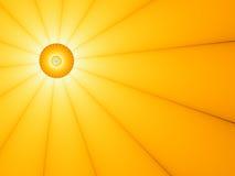 Abstrakter Sun - Abbildung Stockbild