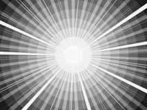 Abstrakter Sunbeam lizenzfreie abbildung