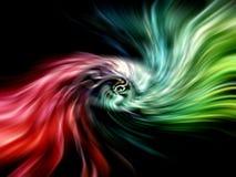 Abstrakter surrealer kosmischer Hintergrund Lizenzfreie Stockbilder
