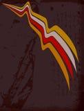 Abstrakter swoosh Hintergrund stock abbildung