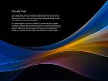Abstrakter Tapeten-Hintergrund Stockfotografie