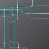 Abstrakter technischer Hightechschmutzhintergrund Stockbild