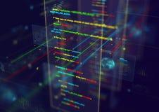 Abstrakter techno Hintergrund Lizenzfreie Stockfotografie