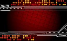 Abstrakter techno Hintergrund. Stockbilder