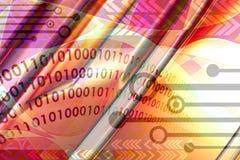 Abstrakter techno Hintergrund vektor abbildung