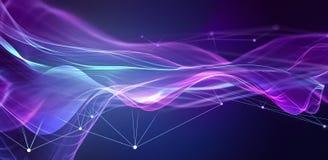 Abstrakter Technologie-Hintergrund lizenzfreies stockfoto