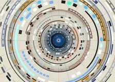 Abstrakter Technologie-Hintergrund Vektor Abbildung