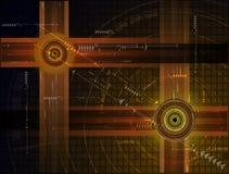 Abstrakter Technologie-Hintergrund Stockfotografie