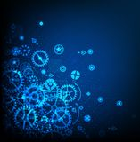 Abstrakter Technologie-Hintergrund Stockfotos