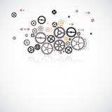 Abstrakter Technologie-Hintergrund Lizenzfreies Stockbild