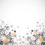 Abstrakter Technologie-Hintergrund Stockfoto