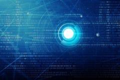 Abstrakter Technologie-Hintergrund Stockbild