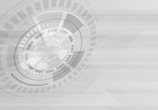 Abstrakter Technologie-Hintergrund Auch im corel abgehobenen Betrag Stockfotos