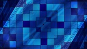 Abstrakter Technologie-Hintergrund, Computer-Animation, Cyberspace-Kabel Lizenzfreie Stockfotografie