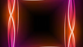 Abstrakter Technologie-Hintergrund, Computer-Animation, Cyberspace-Kabel lizenzfreie abbildung