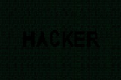 Abstrakter Technologiebinär code-Hintergrund Binäre Daten Digital und Hacker Konzept lizenzfreie abbildung
